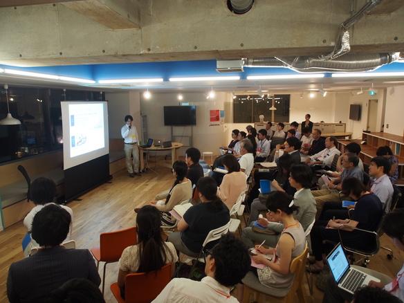渋谷オフィスで開催したA-portイベント、テーマは起案者が語る「クラウドファンディングを使った広報・PR」